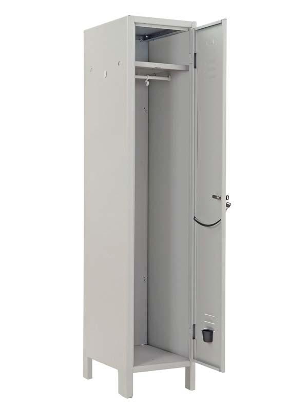 Armadio metallico spogliatoio 1 posto con serratura for Armadio metallico ikea